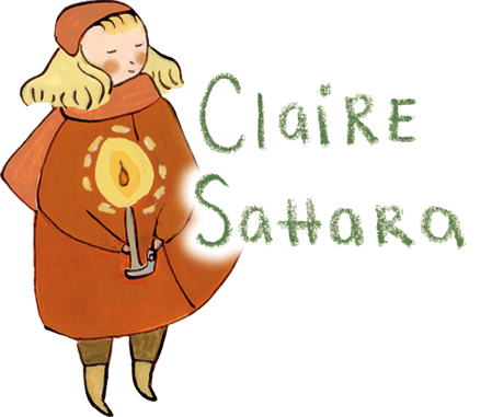 Claire Sahara Illustration Logo