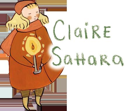 Claire Sahara Illustration Logo
